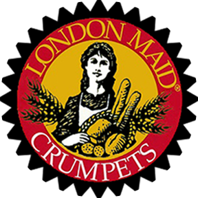 London Maid Crumpets Logo